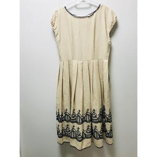 ジェーンマープル(JaneMarple)のjane marpl 舞踏会刺繍 ワンピース(ロングワンピース/マキシワンピース)