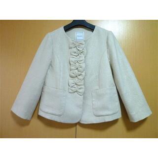 ジェーンマープル(JaneMarple)のアナトリエ☆可愛らしいジャケット(ノーカラージャケット)