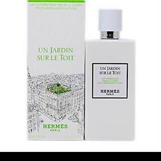 エルメス(Hermes)のエルメス HERMES パフュームド ボディーミルク 《屋根の上の庭》(ボディローション/ミルク)
