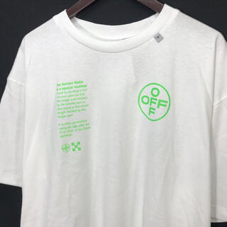 OFF-WHITE - OFF-WHITE ARCH SHAPES Tシャツ