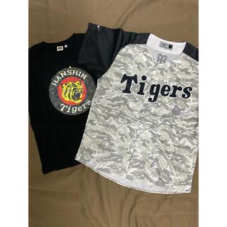 ミズノ(MIZUNO)の阪神タイガース Tシャツ 応援グッズ フリー(応援グッズ)