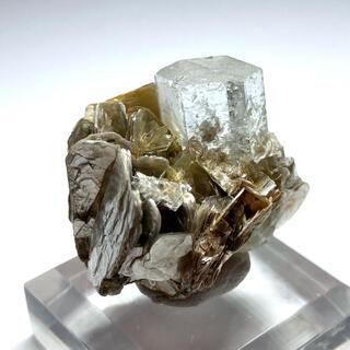 ゴシェナイト 緑柱石 ベリル アクアマリン 原石 鉱物 鉱石 宝石 標本 天然石