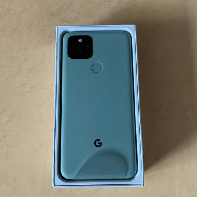 Google Pixel(グーグルピクセル)のGoogle Pixel 5 5G 128GB Sorta Sage(未使用) スマホ/家電/カメラのスマートフォン/携帯電話(スマートフォン本体)の商品写真