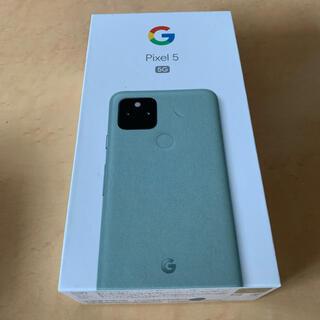 Google Pixel - Google Pixel 5 5G 128GB Sorta Sage(未使用)