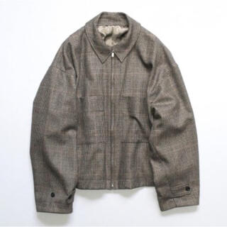 SUNSEA - stein Over Sleeve Drizzler Jacket