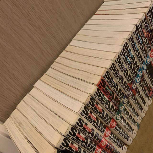 集英社(シュウエイシャ)のSLAM DUNK スラムダンク 完全版 全24巻セット エンタメ/ホビーの漫画(全巻セット)の商品写真
