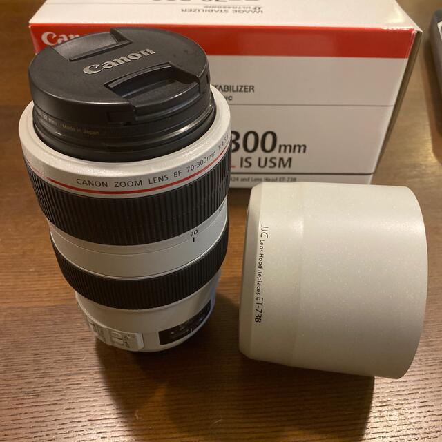 Canon(キヤノン)のCanon (キヤノン) EF70-300mm F4-5.6L IS USM スマホ/家電/カメラのカメラ(レンズ(ズーム))の商品写真