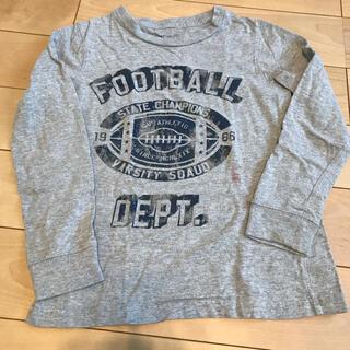 ギャップキッズ(GAP Kids)のギャップキッズ キッズ ロンT グレー 120(Tシャツ/カットソー)