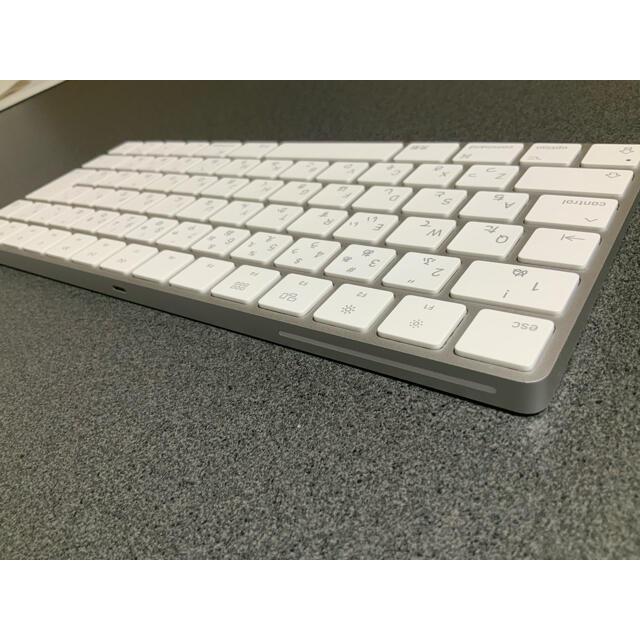 Apple(アップル)のApple Magic keyboard 2 [美品] スマホ/家電/カメラのPC/タブレット(PC周辺機器)の商品写真