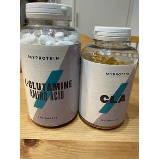 MYPROTEIN - L-グルタミン250錠 と CLA180錠