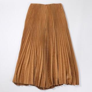 ユナイテッドアローズ(UNITED ARROWS)のASTRAET【フェイクスエードプリーツロングスカート】(ロングスカート)