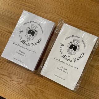 サンタマリアノヴェッラ(Santa Maria Novella)のサンタマリアノヴェッラ 紙袋 新品(ショップ袋)