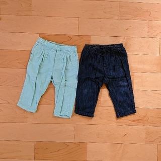 ベビーギャップ(babyGAP)のGAPbaby 長ズボン パンツ 80cm 12-18m 2点セット(パンツ)