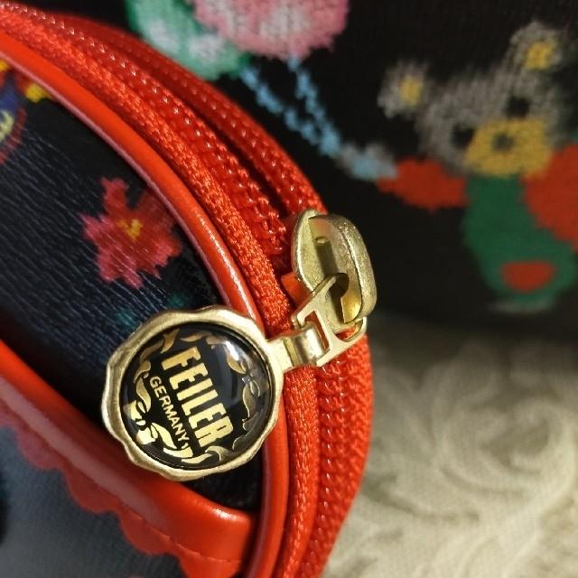 FEILER(フェイラー)の新品  ♡FEILER ハイジ♡  レア  ポーチ レディースのファッション小物(ポーチ)の商品写真