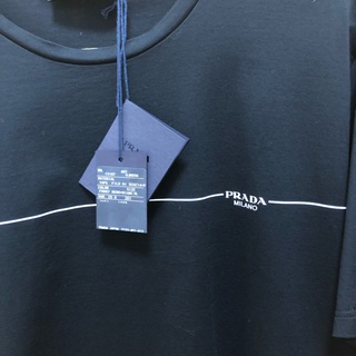 PRADA - PRADA プラダ tシャツ ブラック トップス