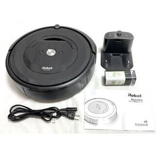 iRobot - ☆ ルンバ e5 ロボット掃除機 アイロボット e51506 ブラック