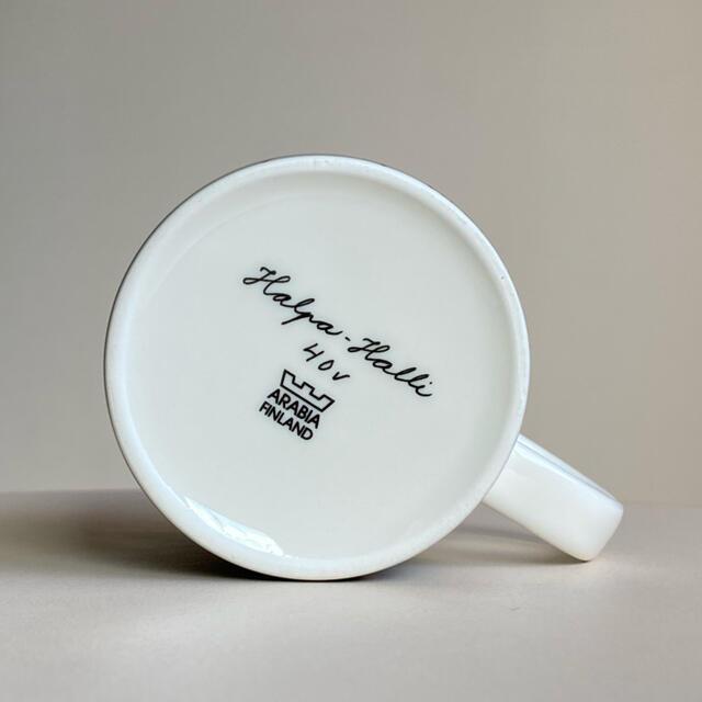 ARABIA(アラビア)のShopping Bunnies 2007年 ヘルヤ マグカップ アラビア マグ インテリア/住まい/日用品のキッチン/食器(グラス/カップ)の商品写真