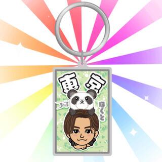 THE RAMPAGE - 吉野北人 ご当地パンダ 背景付きメタルキーホルダー オンラインブース
