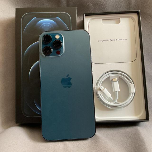 Apple(アップル)のiPhone12 Pro Max 256GB simフリー オマケ付き スマホ/家電/カメラのスマートフォン/携帯電話(スマートフォン本体)の商品写真