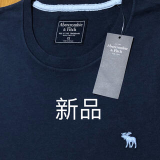 アバクロンビーアンドフィッチ(Abercrombie&Fitch)の新品 アバクロンビー&フィッチ 無地TシャツXS(Tシャツ/カットソー(半袖/袖なし))