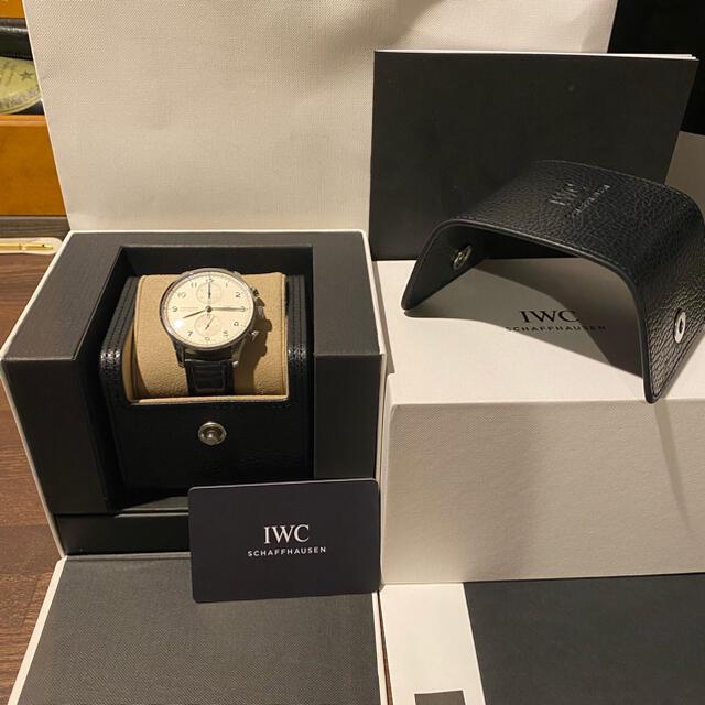 IWC(インターナショナルウォッチカンパニー)のIWC ポルトギーゼ IW371604 裏スケルトン メンズの時計(腕時計(アナログ))の商品写真