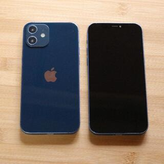 iPhone12 ブルー スマホモックアップ  展示品 サンプル(その他)
