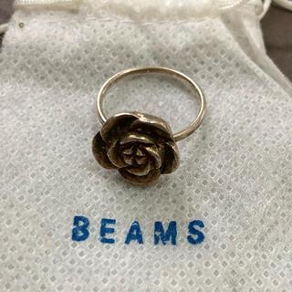 ビームス(BEAMS)のBEAMS シルバーリング バラ 薔薇(リング(指輪))