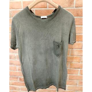 サンローラン(Saint Laurent)の【美品】Tシャツ サンローラン イタリア製(Tシャツ/カットソー(半袖/袖なし))
