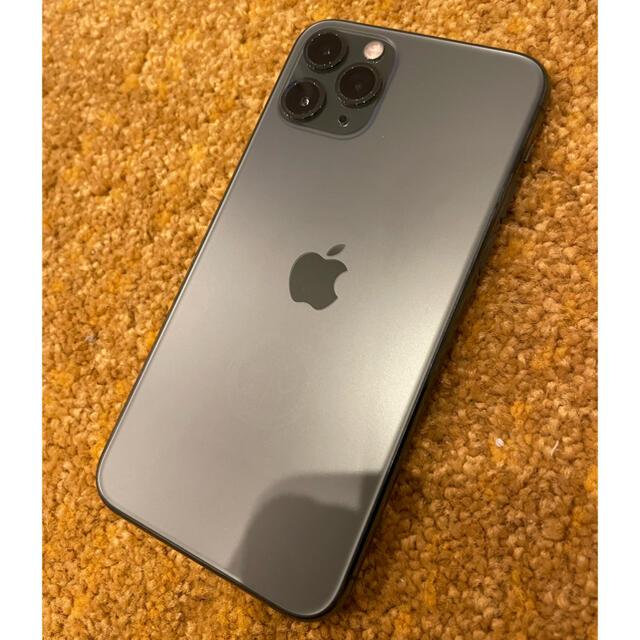 Apple(アップル)のお値下げ中★超美品★iPhone11pro256GB★ミッドナイトグリーン★ スマホ/家電/カメラのスマートフォン/携帯電話(スマートフォン本体)の商品写真