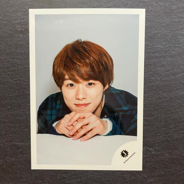 ジャニーズJr.(ジャニーズジュニア)の公式写真 なにわ男子 大橋和也 エンタメ/ホビーのタレントグッズ(アイドルグッズ)の商品写真