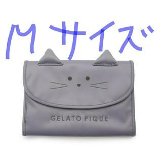 gelato pique - ジェラートピケ☆CAT☆母子手帳ケースMサイズ☆グレー新品未使用