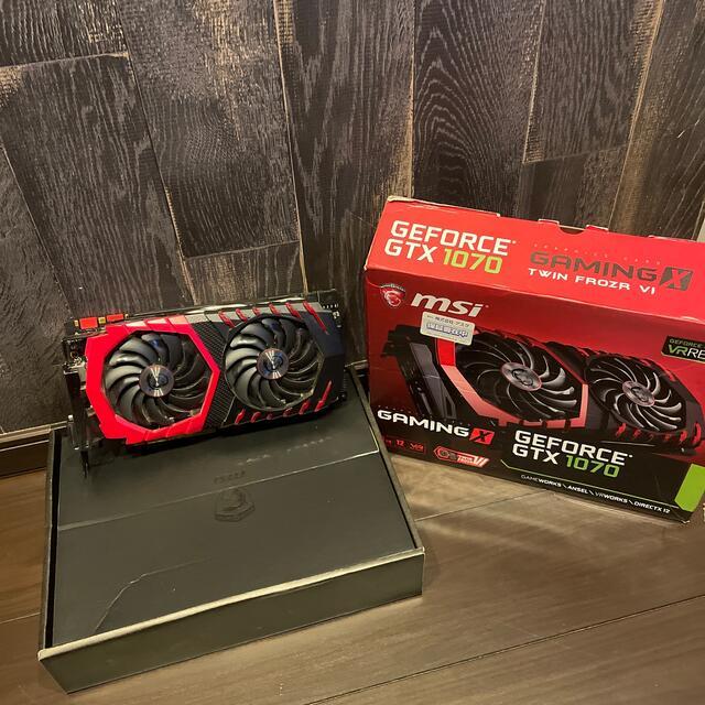 【kzkf様専用】msi GeForce GTX1070 スマホ/家電/カメラのPC/タブレット(PCパーツ)の商品写真