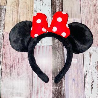 Disney - ディズニーリゾート ミニーカチューシャ ディズニー ミニーちゃん
