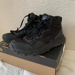 ザノースフェイス(THE NORTH FACE)の1回のみ使用ノースフェイス登山靴26.0ハイキングシューズ(登山用品)
