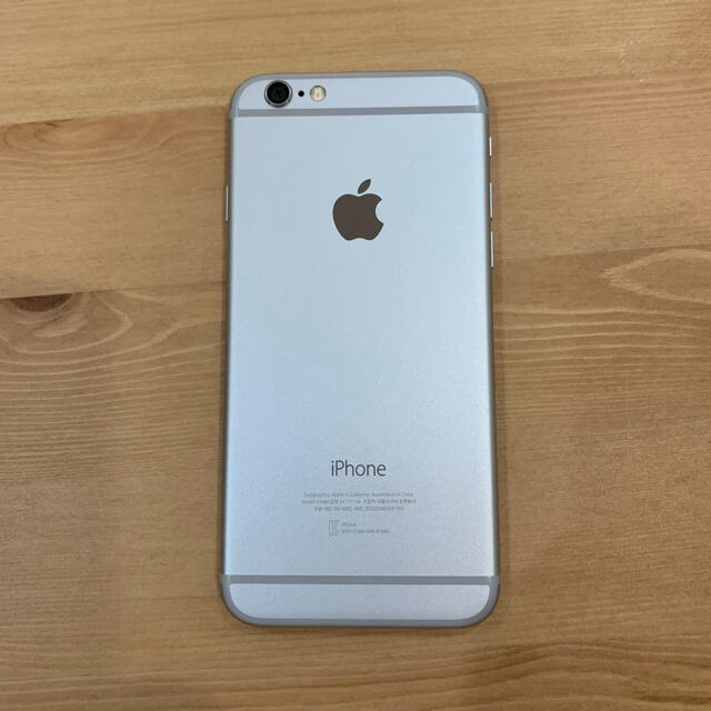 Apple(アップル)のiPhone6 ホワイト 64gb  スマホ/家電/カメラのスマートフォン/携帯電話(スマートフォン本体)の商品写真