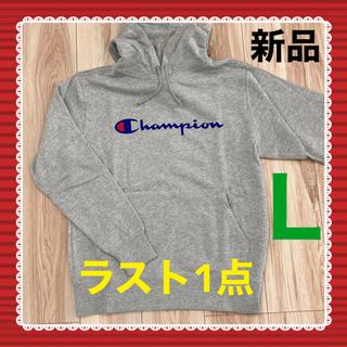 チャンピオン(Champion)のChampion プルオーバースウェットパーカー C3-Q102 グレー L(パーカー)