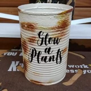 リメイク缶 多肉植物(プランター)