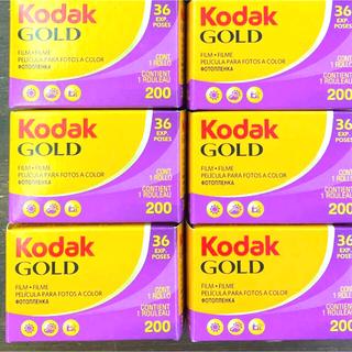 Kodak GOLD 36枚撮り 6個セット(フィルムカメラ)