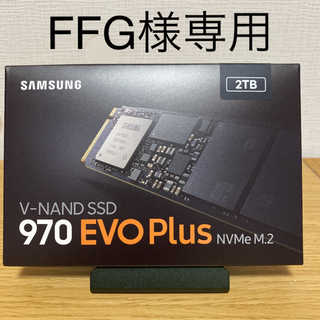 SAMSUNG - SAMSUNG 970EVO Plus 2TB m.2 新品未使用 保証書あり