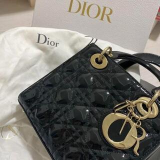 Dior - 【美品】christiandior ladydior ミディアム 正規品