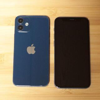 iPhone12mini ブルー スマホモックアップ  展示品 サンプル(その他)