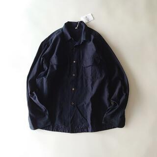 フォーティファイブアール(45R)の未使用 45R 藍染め ワイド シャツ 45rpm インディゴ(シャツ)