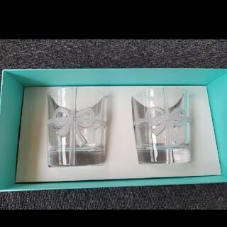Tiffany & Co. - ティファニー TIFFANY&Co ボウ グラス セット コップ ペアグラス