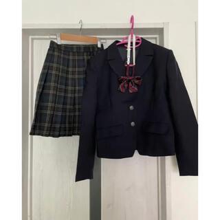 高校制服 女子 ブレザー、セーター、リボン、スカートセット