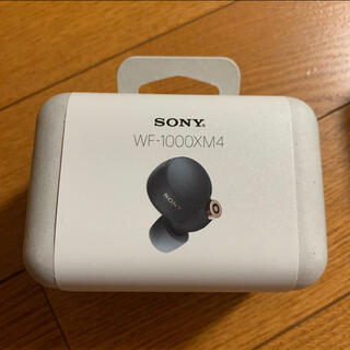 SONY - 新品未開封  sony  WF-1000XM4  ブラック  2