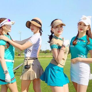 PEARLY GATES - PEARLY GATES パーリーゲイツ 韓国 ゴルフウェア スカート