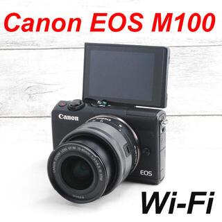 Canon - ❤️Wi-Fi機能搭載❤️自撮り❤️Canon EOS M100