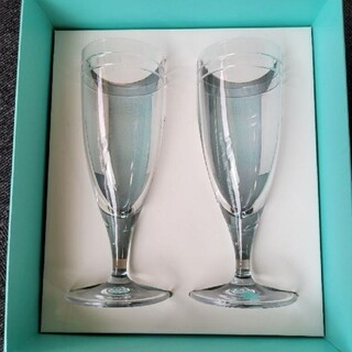 ティファニー(Tiffany & Co.)のティファニー フルートグラス(グラス/カップ)