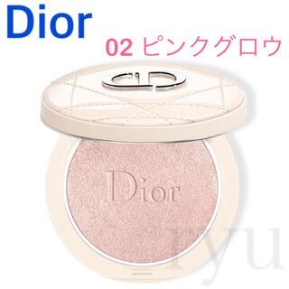 ディオール(Dior)の新品 ディオール フォーエヴァークチュールルミナイザー 02 ピンクグロウ(フェイスカラー)