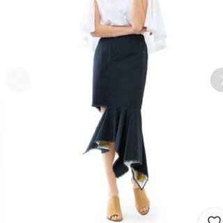 アメリヴィンテージ(Ameri VINTAGE)のアメリヴィンテージ ロングスカート ブラック(ロングスカート)
